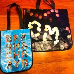 2 Lululemon Reusable Shopping bags